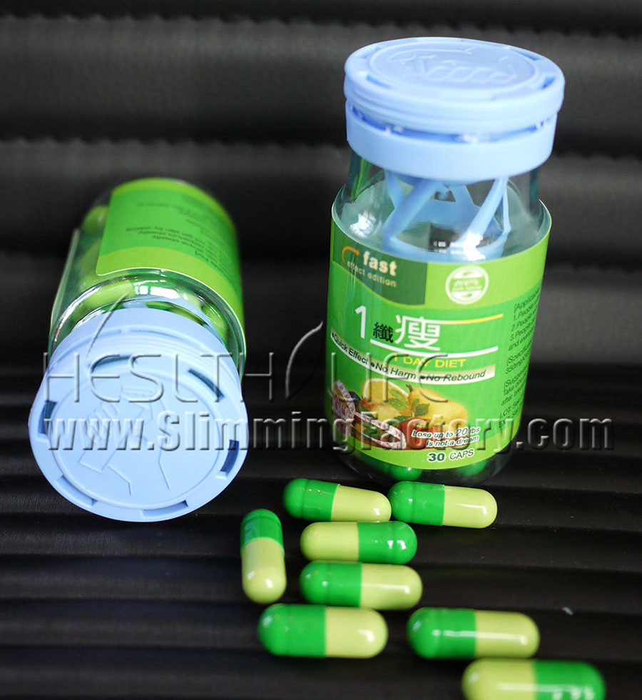 1 Day Diet Slimming Capsule -- fat burning from the first day