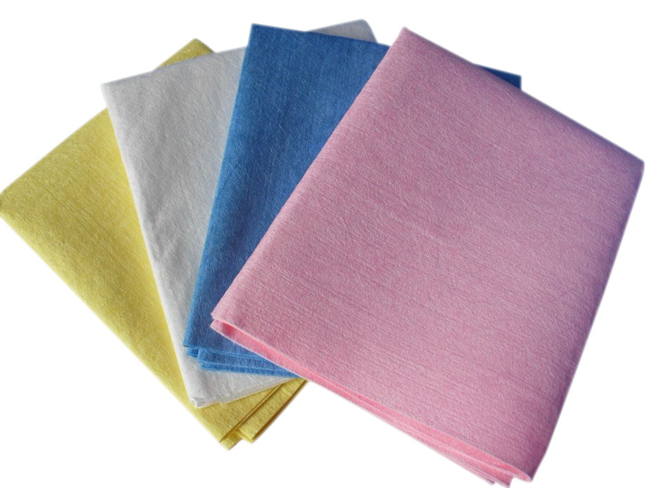 Microfilaments spunlace nonwoven fabric for healthy bedding