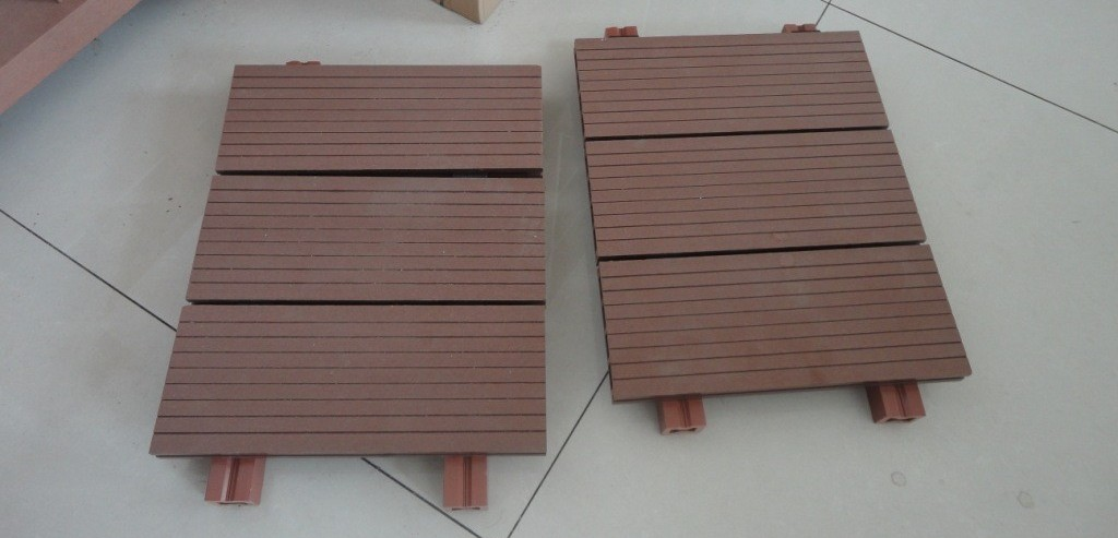 Roof terrace stone tiles