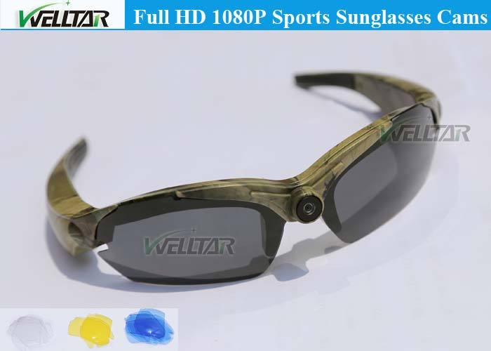 eyewear digital hd video camera sunglasses