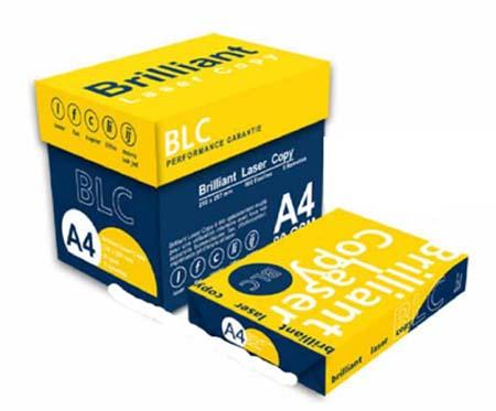 Brilliant A4 copy Paper   80gsm/75gsm/70gsm