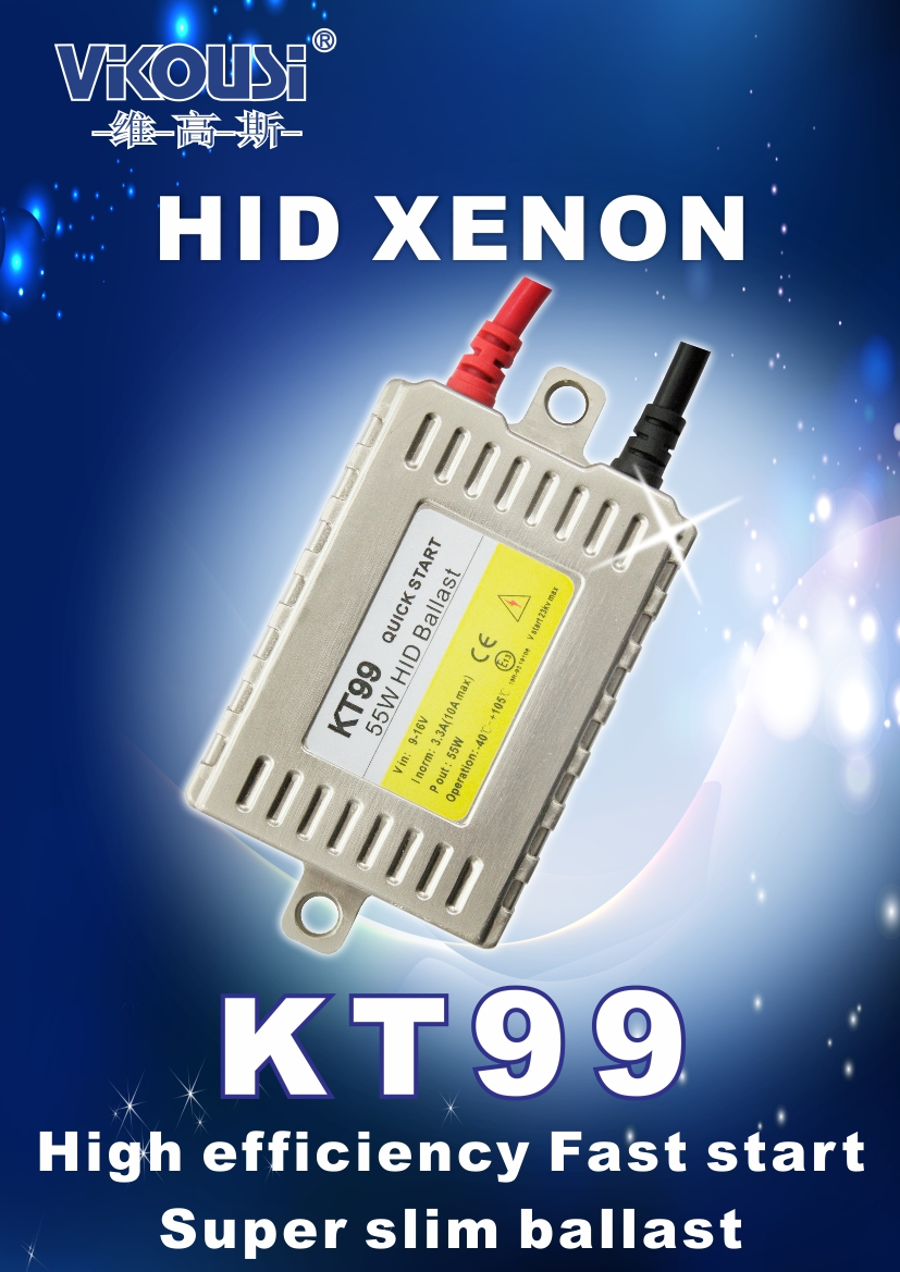 KT99 super slim ballast High Efficiency Fast start