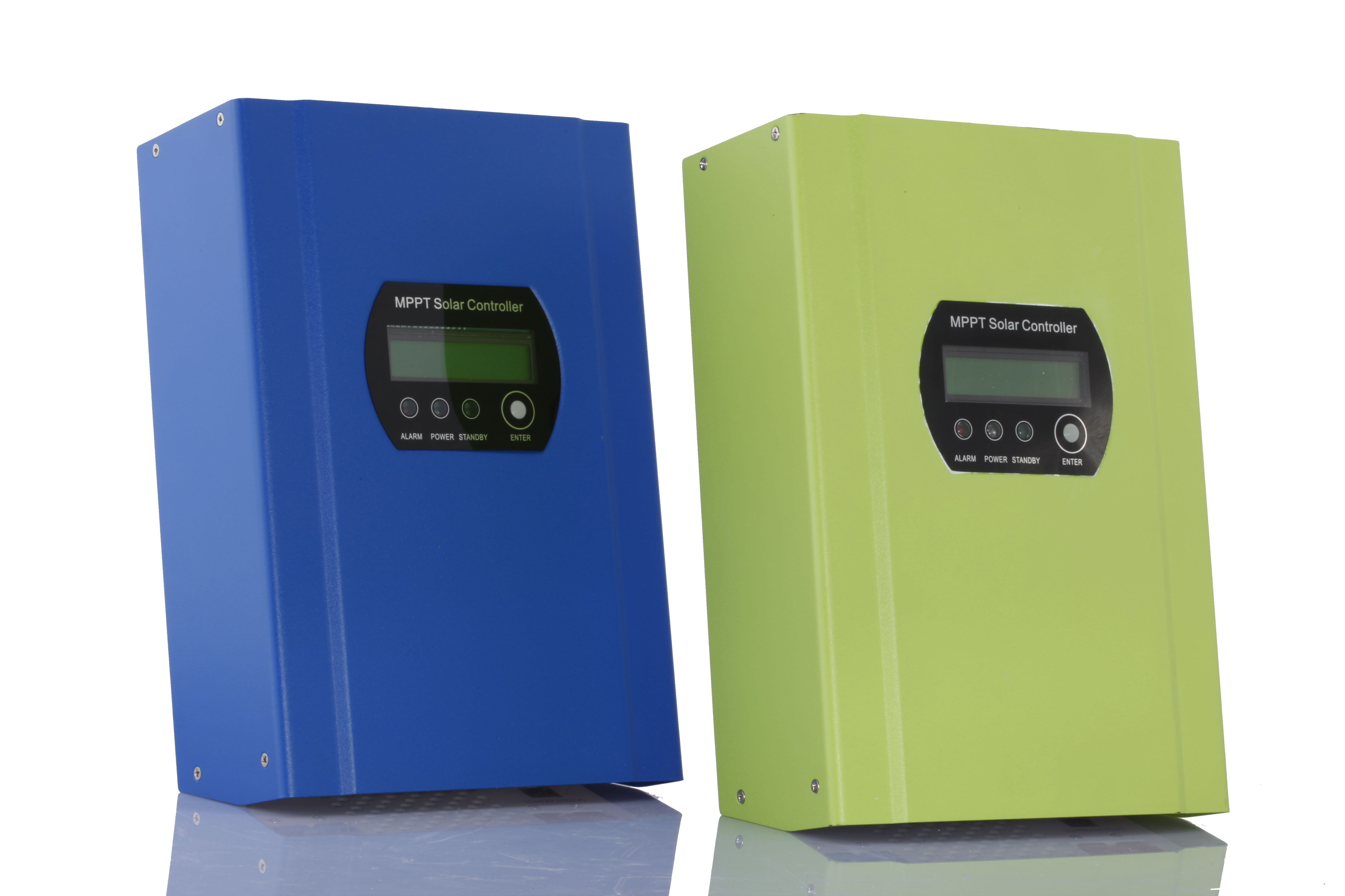 MPPT solar charge controller with LCD display