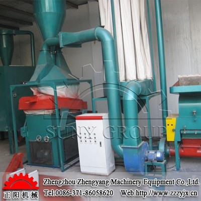 No dust &pollution 99% purity scrap copper cable wire granulator machine