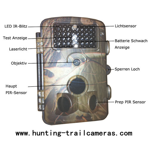 20fps Video 850nm Infrared Trail Camera With Laser light and Serial Number
