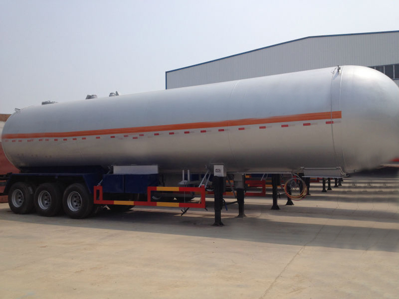 Reasonable price high-tensile carbon steel propane tanker semitrailer