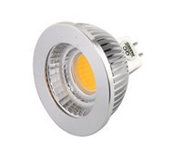 UL , ETL approval 5W MR16 COB LED spotlight 450lm 80 degree