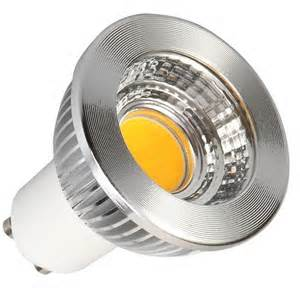 UL, ETL 3W 350lm GU10 COB LED spotlight AC85-265V 80degree