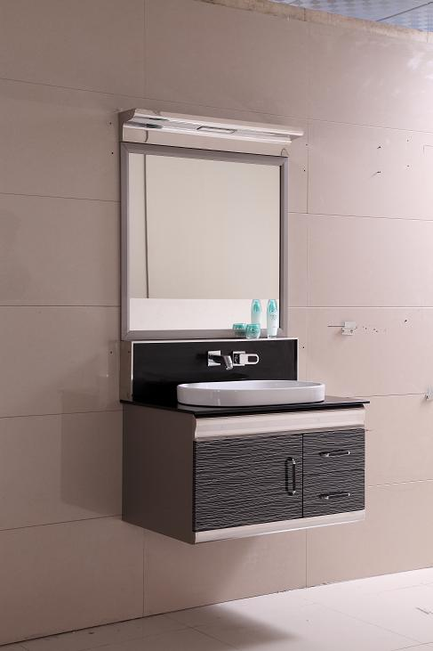 SS stainless steel bathroom cabinet