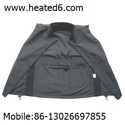 Heated vest for parents
