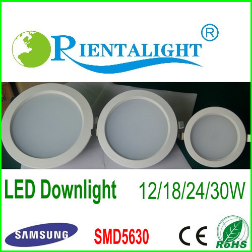 Dimmable LED Downlight 30W