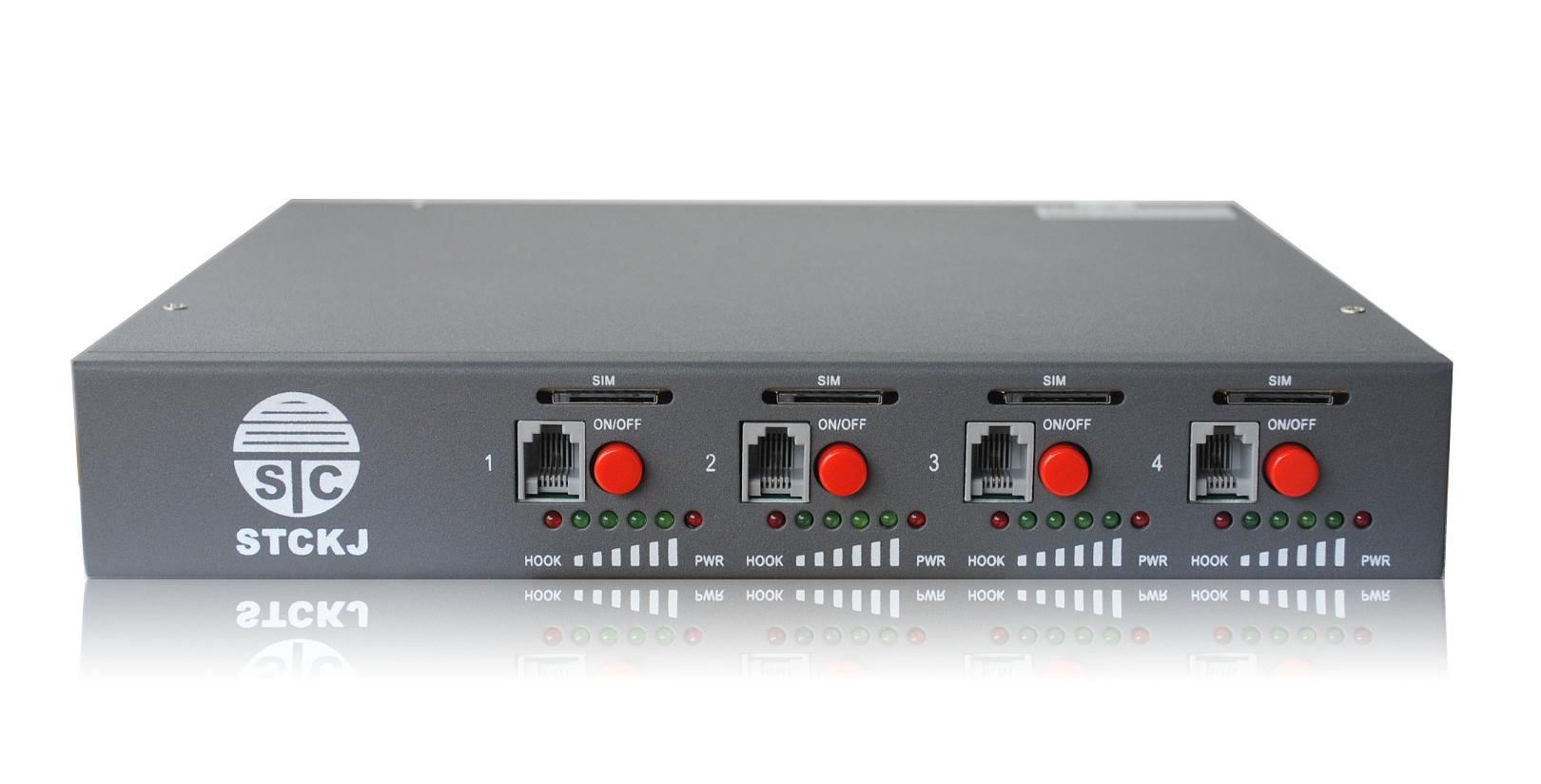 4 Channels GSM Gateway
