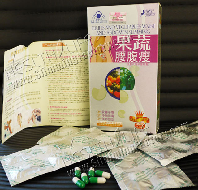 Fruit & Vegetable Capsule Herbal Weight Loss Product