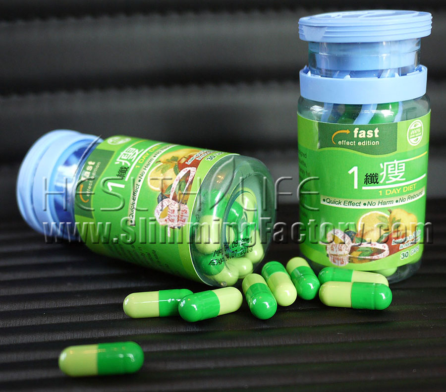 1 Day Diet Pill Herbal Weight Loss Product