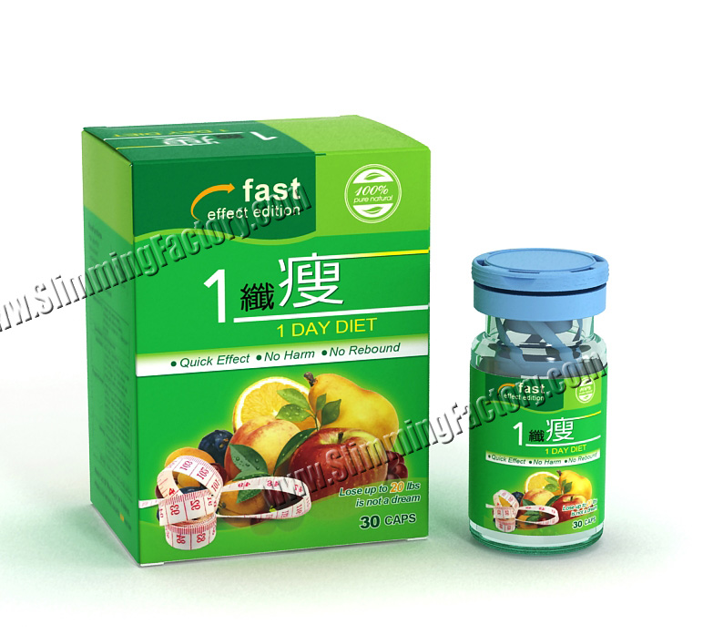 Herbal 1 Day Diet Weight Loss Formula