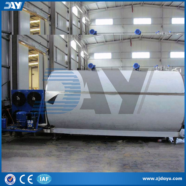 stainless tanks for milk processing machinery price