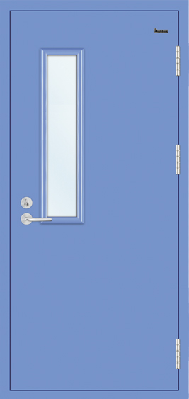 Steel-Wood Heat Insulation Fire Door