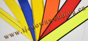 Safety harness webbing