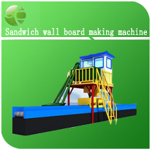 Sandwich wall board making machine