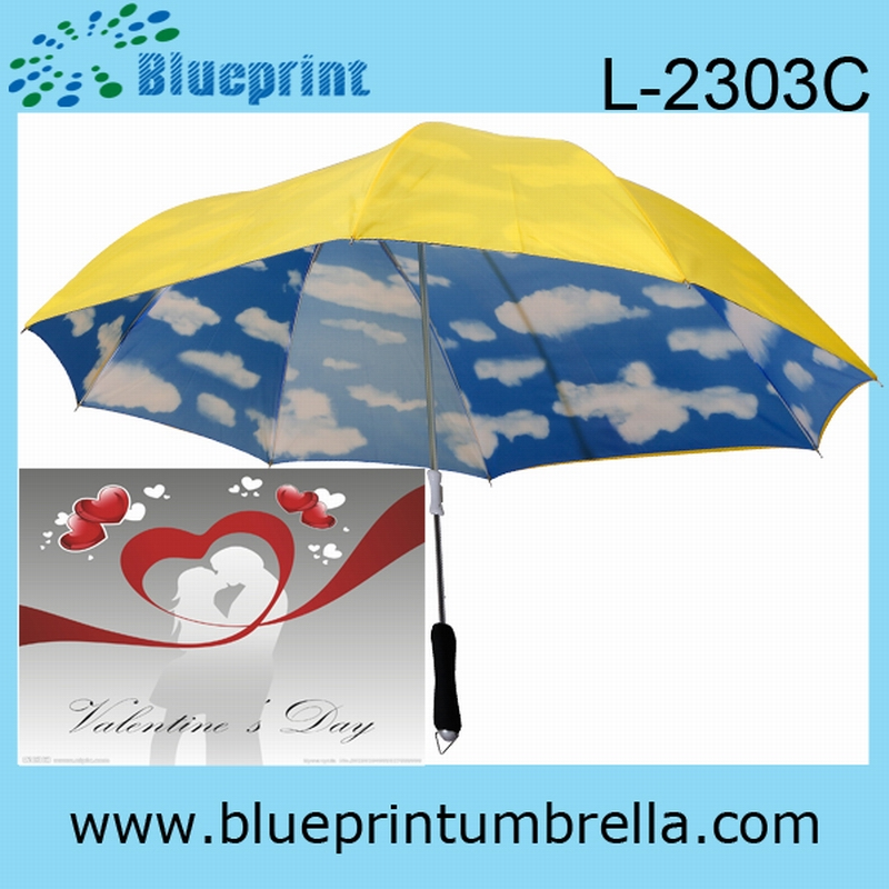 custom double umbrella for romantic lovers