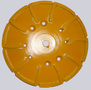 250mm floor grinding wheel