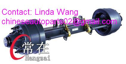 trailer axles 10t 13t 14t 15t 16t Fuwa/BPW