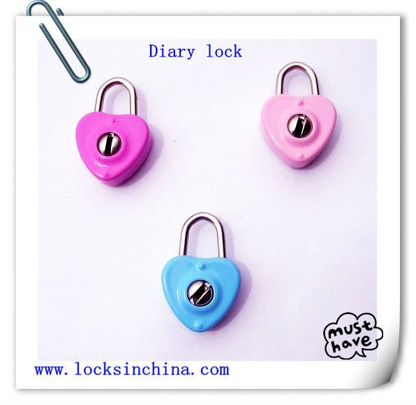 Mini locks nice for diary or notebook with two keys
