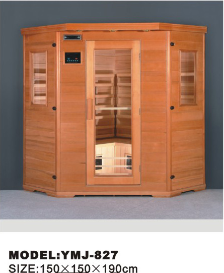 YMJ-827 luxury sauna room/cabin with CE,ROHS and ISO certificate