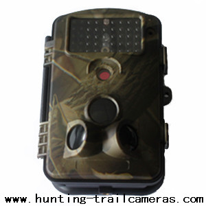 Fashionable 12MP 940NM Outdoor Wireless Hunting Cameras HD 1280*720 20FPS