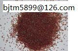 Garnet for waterjet cutting and sandblasting