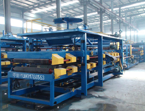 Sandwich panel roll forming machine 3