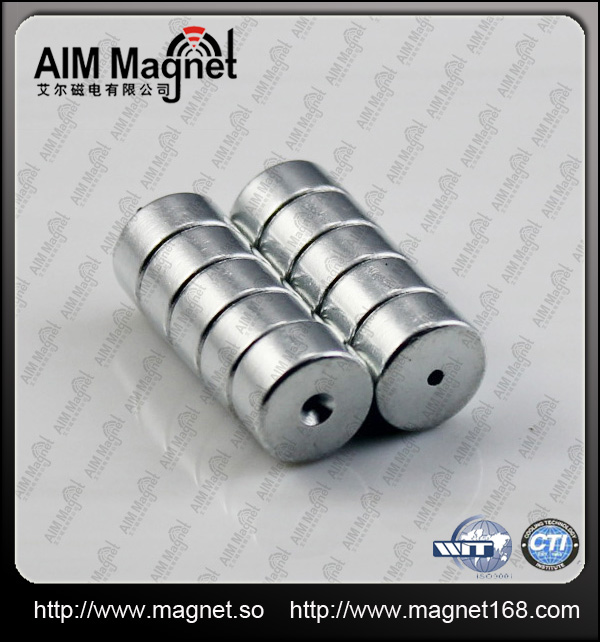 Strong Custom Jewery Neodymium magnets ring for sale
