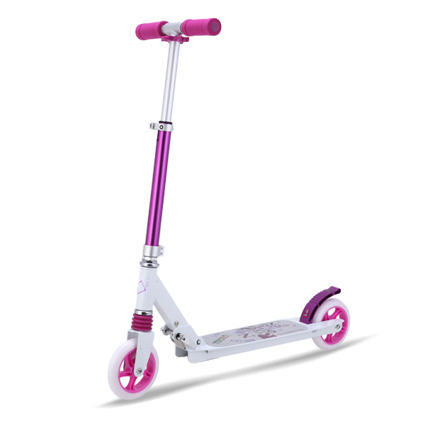 two wheels children scooter with 145mm wheels