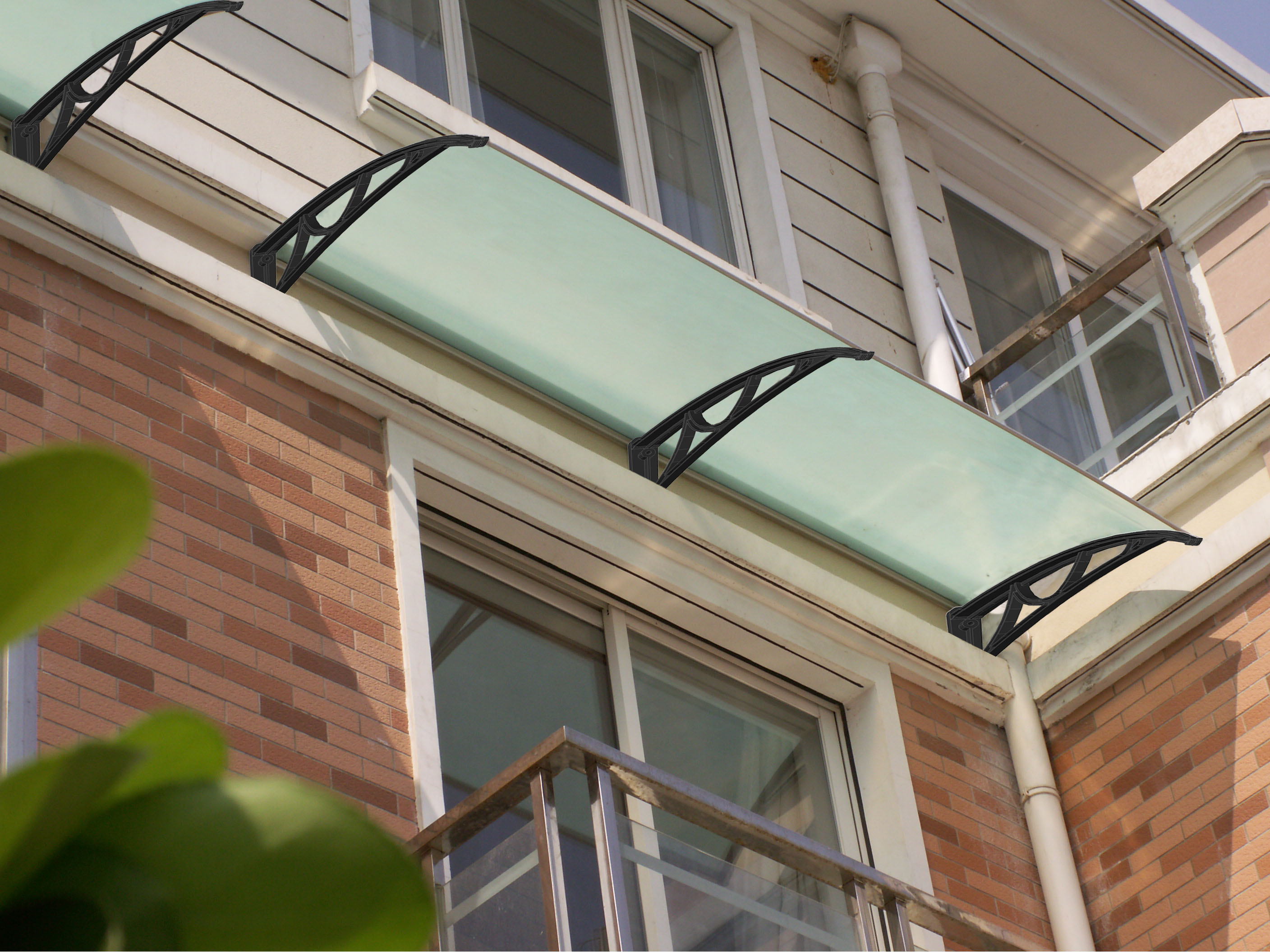 polycarbonate canopy PC Awning N700-150S