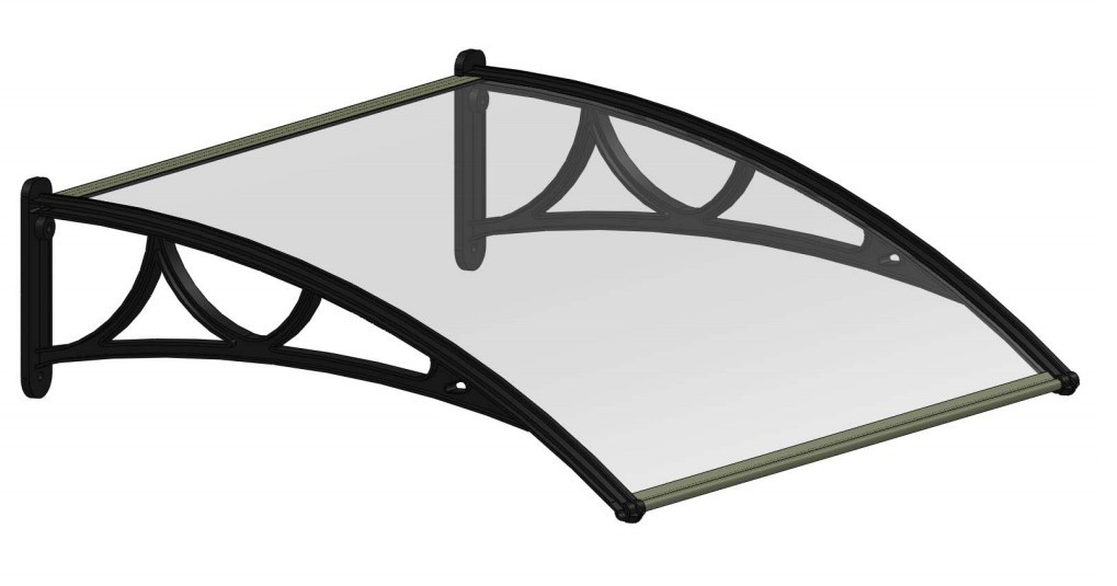 polycarbonate canopy PC Awning N700-140S