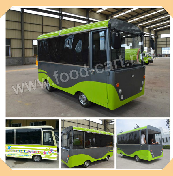 Electric Mobile Food Bus