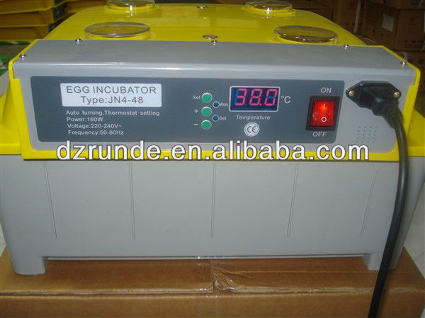 best price JN4-48 Automatic Mini Egg Incubator/Mini Chicken Incubator