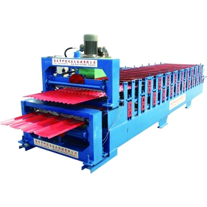 Double layer roll forming machine unique molding technology