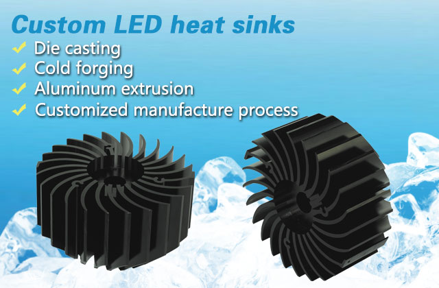 led heat sink.led light fittings