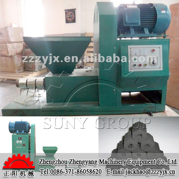 Coconut Shell Briquette Making Machine