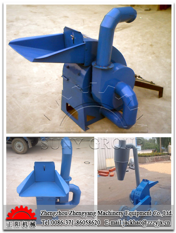 Straw crusher/crushing machine