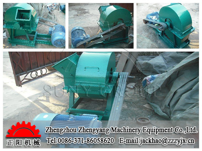 Wood Waste Crusher Machine
