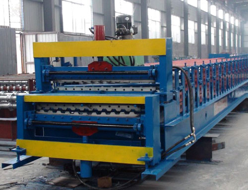 C10-C21 double deck roll forming machine