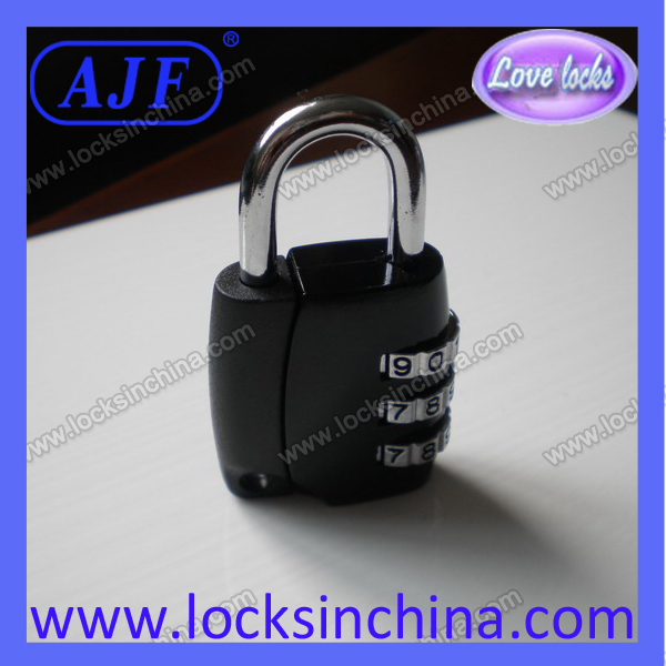 High quality fashionable luggage coded padlock