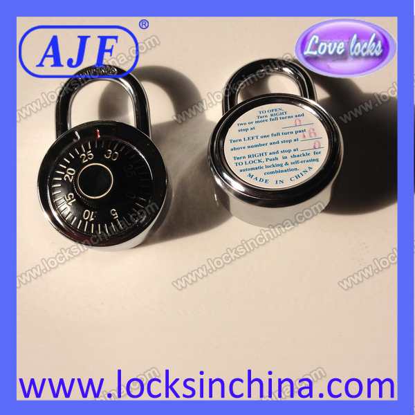 45mm Rotary combination lock for students