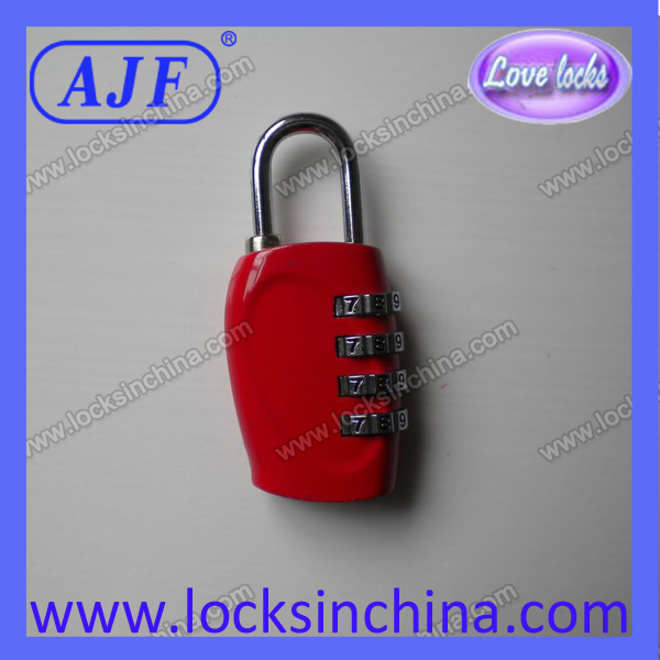 30mm 4 digits international travel padlock
