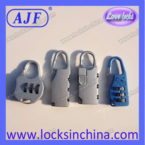beautiful cheap handbag combination padlock as gifts for friend
