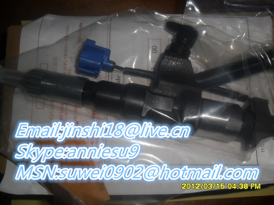 Denso original and new injector 095000-7172 for HINO 23670-E0370