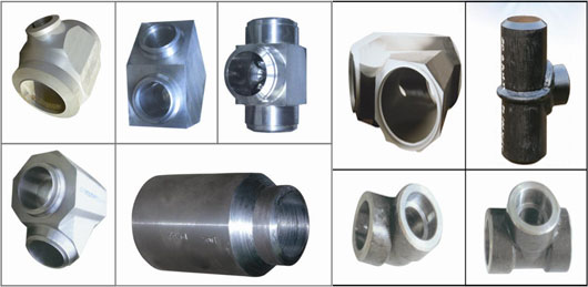 High-pressure pipe-fittings