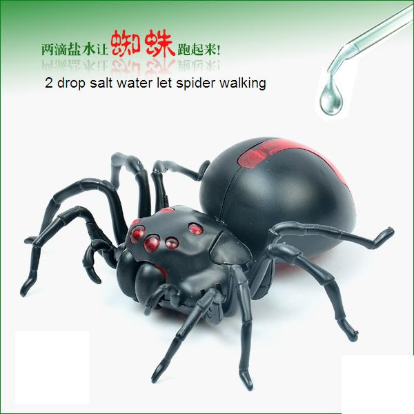 DIY Salt water powered spider